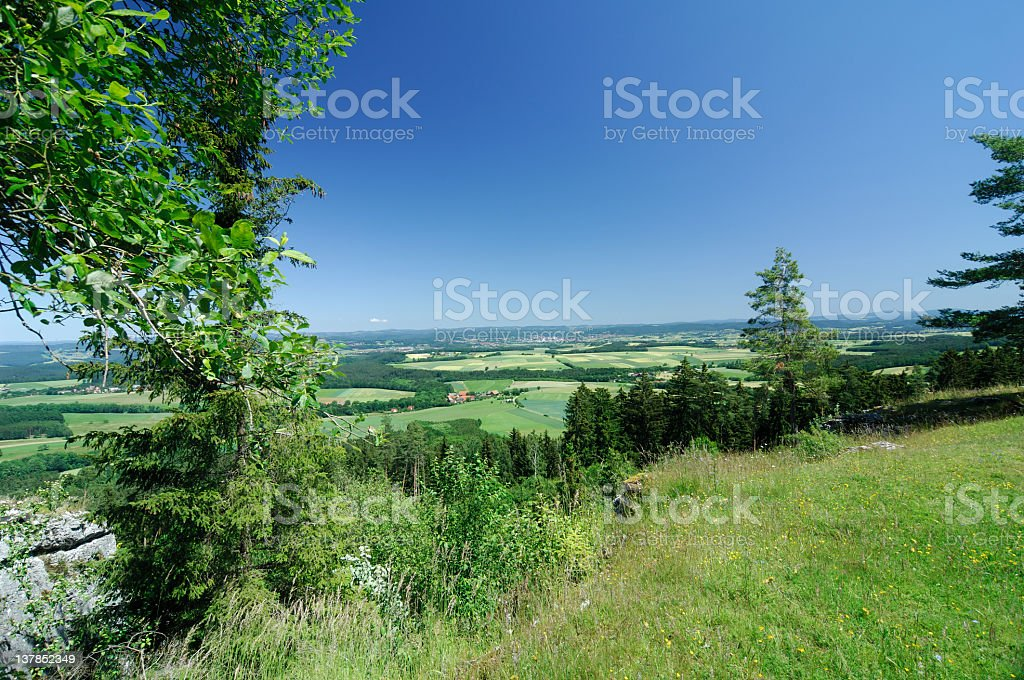 View over franconia royalty-free stock photo