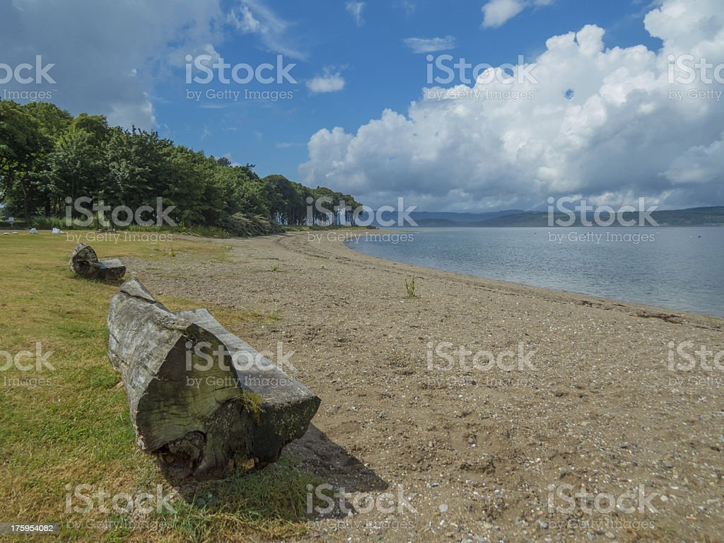 View over Loch Fyne royalty-free stock photo