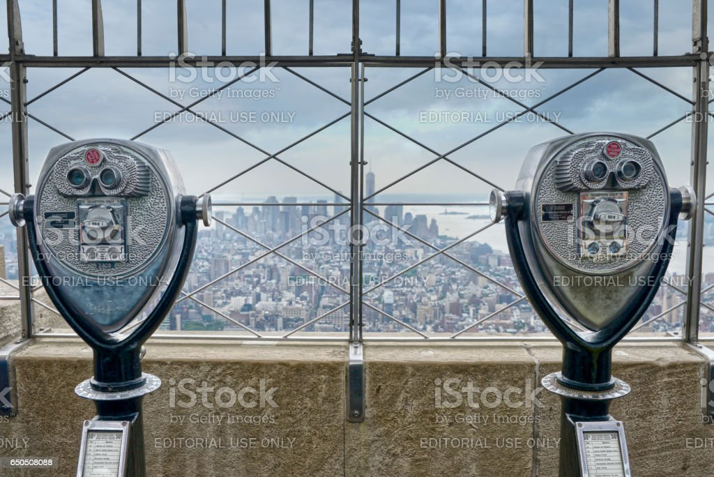 View over Manhattan stock photo