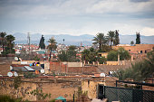 View over Marrakesh in Morrocco
