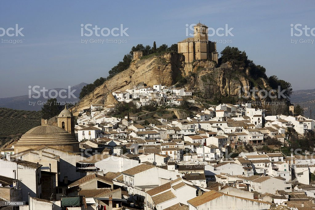 View over Montefrio in Granada, Spain royalty-free stock photo