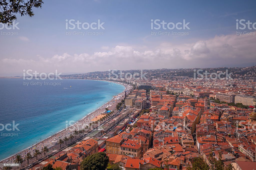 View Over Nice. stock photo