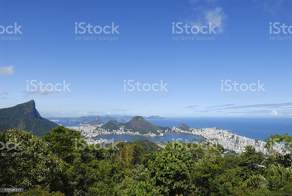 view over Rio royalty-free stock photo