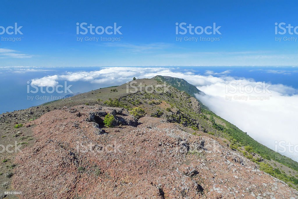 View over the west of El Hierro royalty-free stock photo