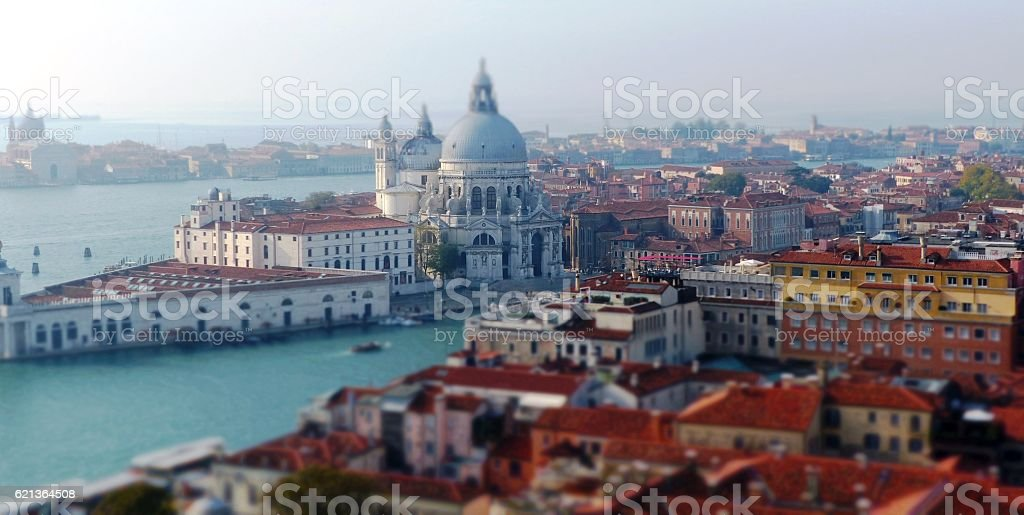 View over Venice, Canal Grande stock photo
