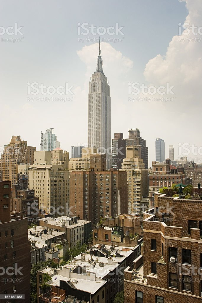 NYC view royalty-free stock photo