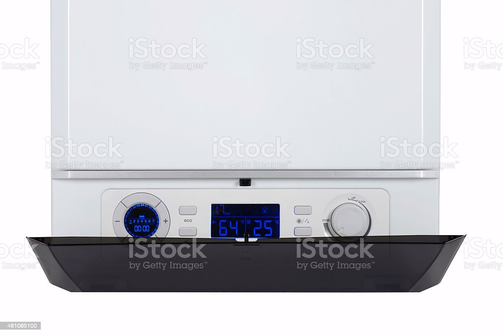 LCD view stock photo
