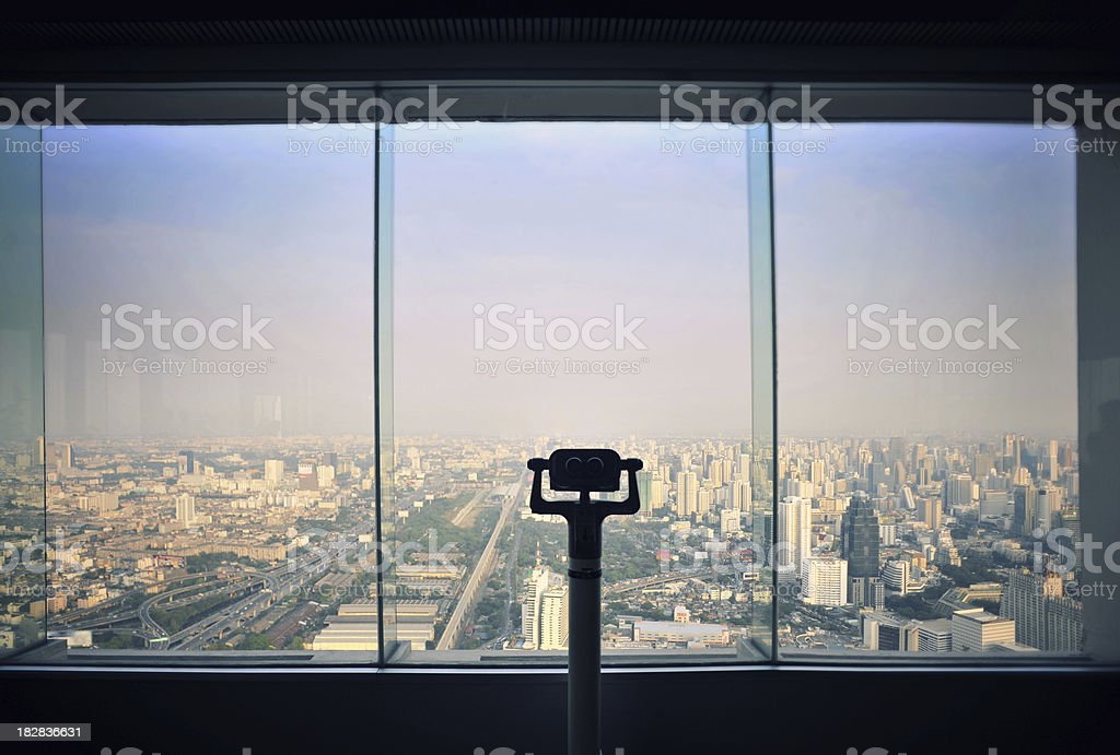 view point in Bangkok royalty-free stock photo