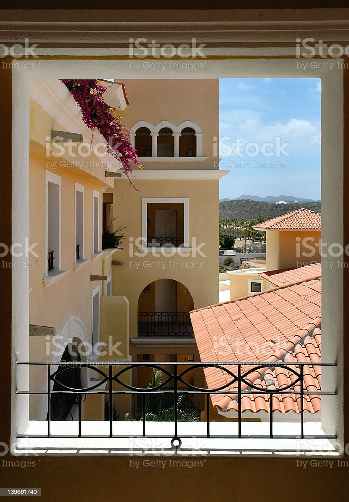 View through the window royalty-free stock photo