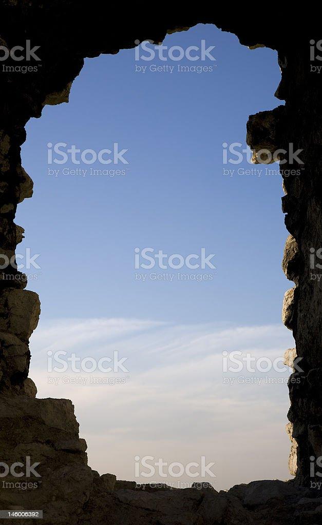 View through window royalty-free stock photo