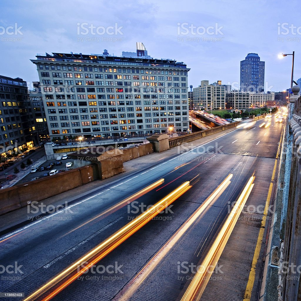 View to Brooklyn royalty-free stock photo