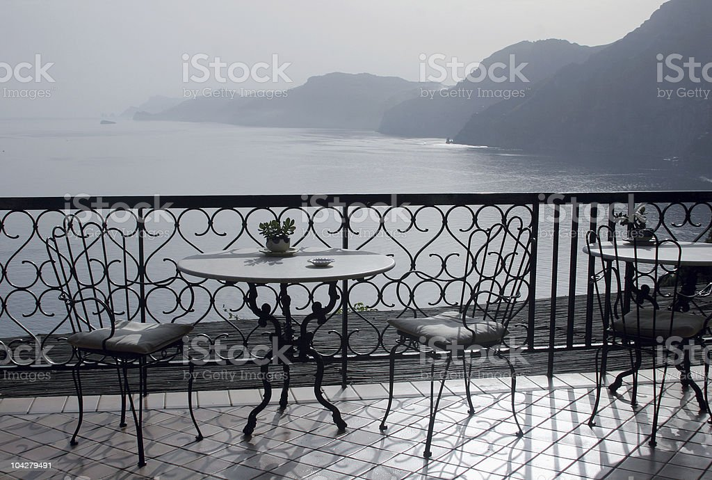 View to sea royalty-free stock photo