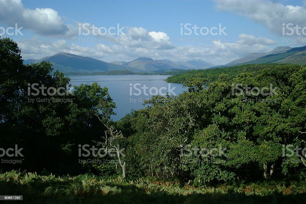 View to the Highlands 2 royalty-free stock photo
