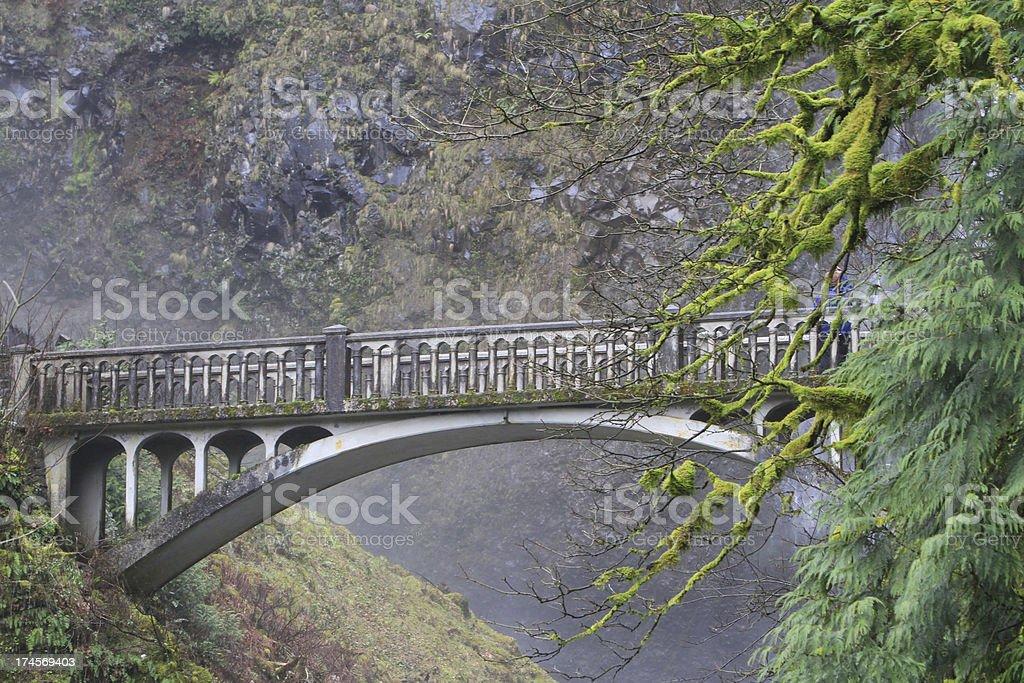 Viewing Bridge stock photo
