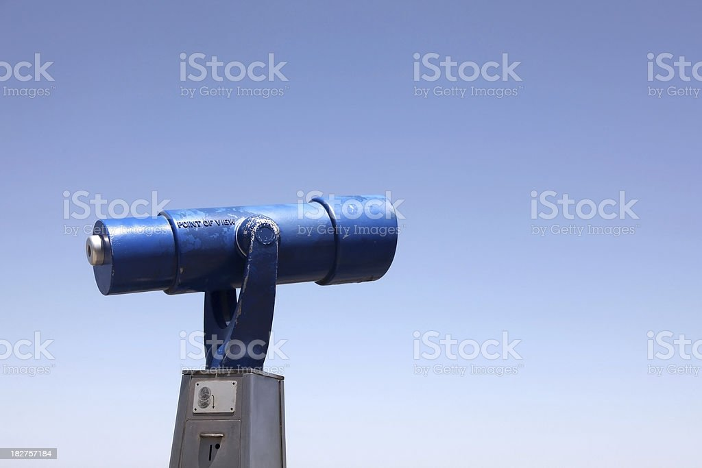 Viewing Telescope royalty-free stock photo