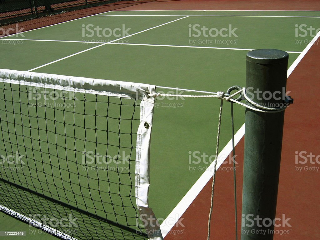 Viewing the court royalty-free stock photo