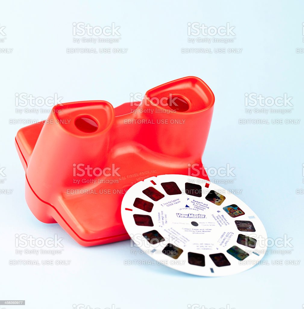 Viewmaster Toy stock photo