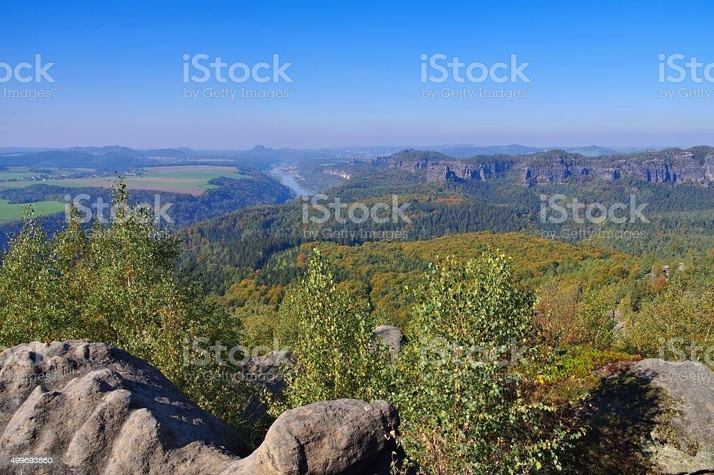viewpoint Kipphornaussicht stock photo