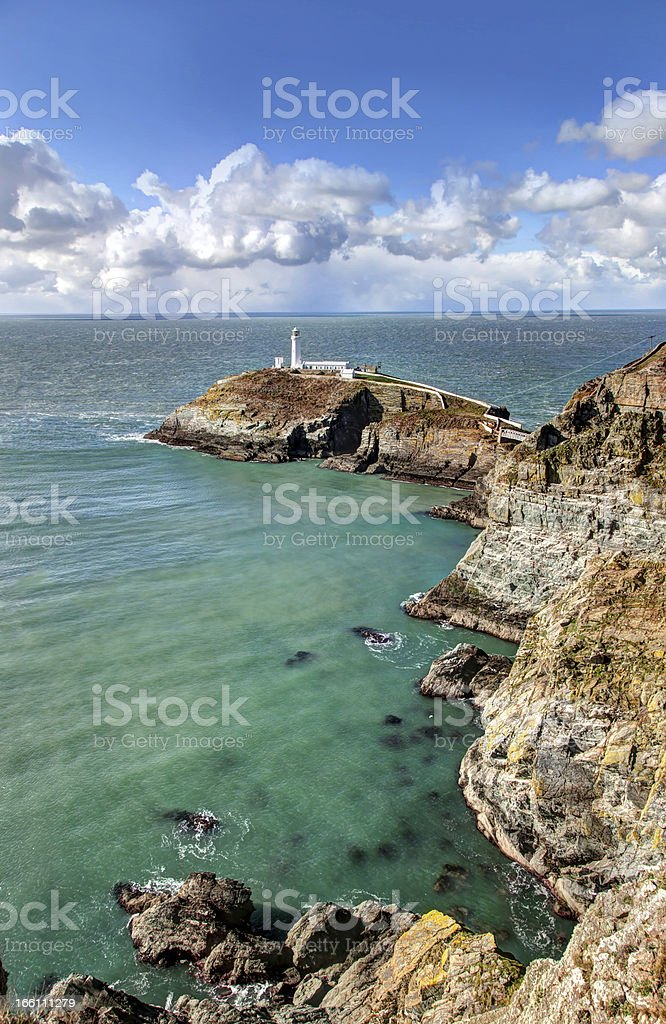 Views around South stack stock photo