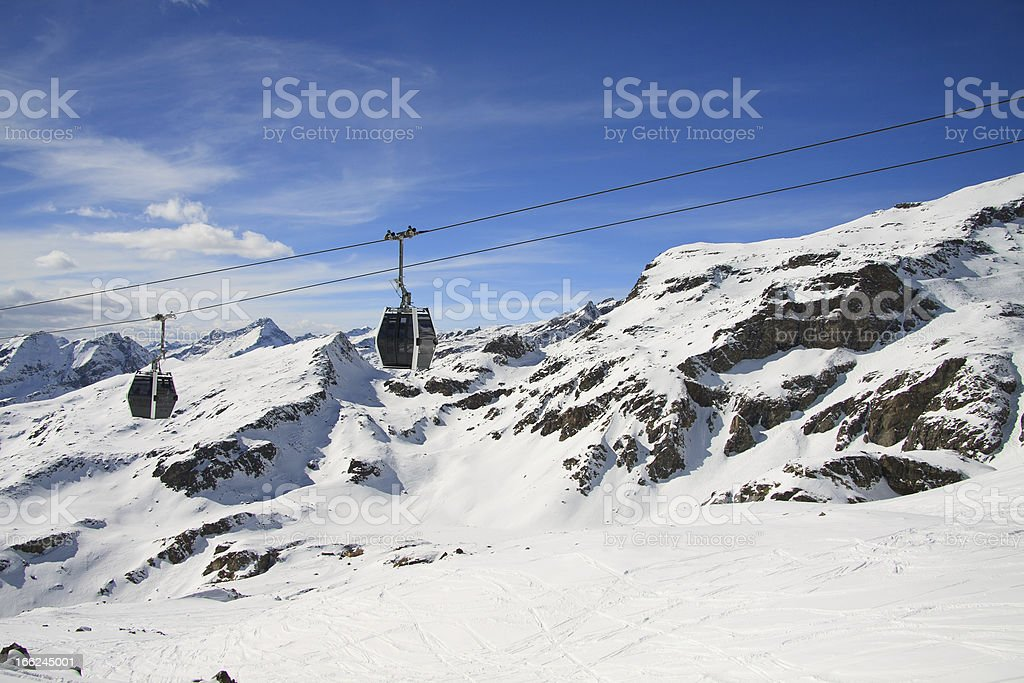 views from pass Salati stock photo
