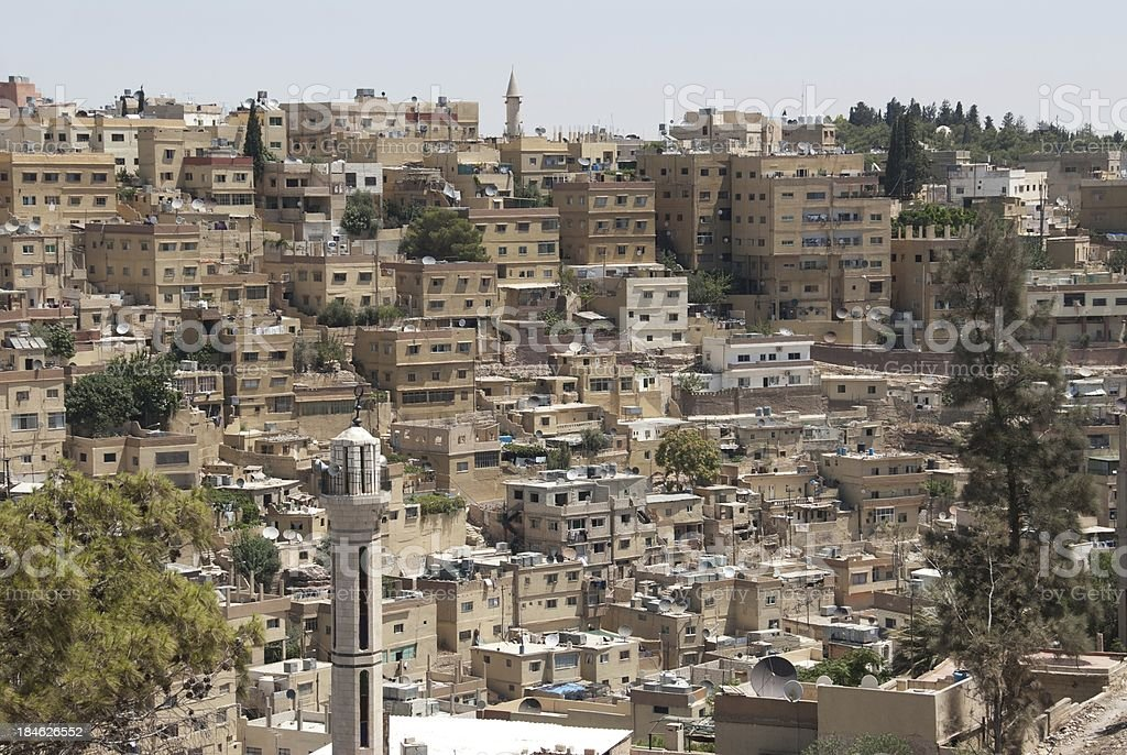 Views of Amman royalty-free stock photo