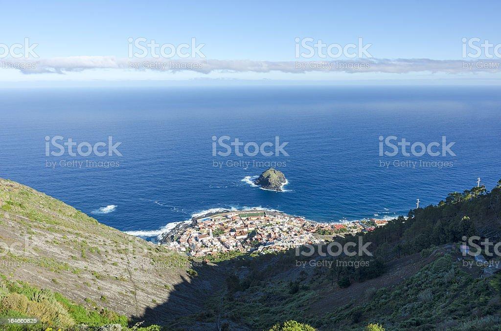 Views of Garachico stock photo