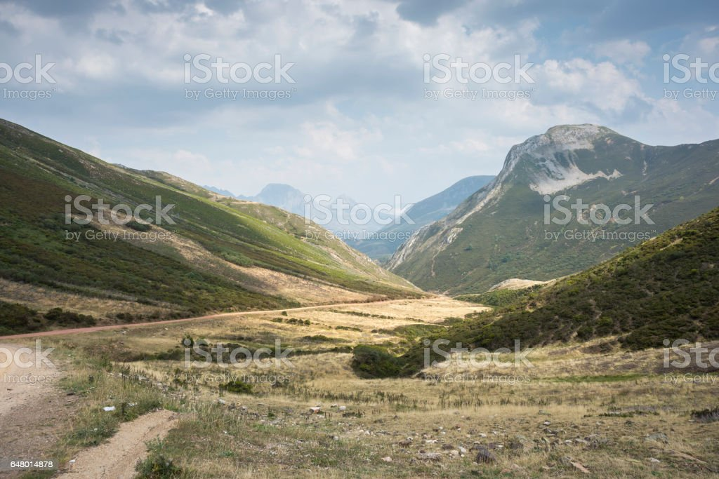 Views of Region of Babia stock photo