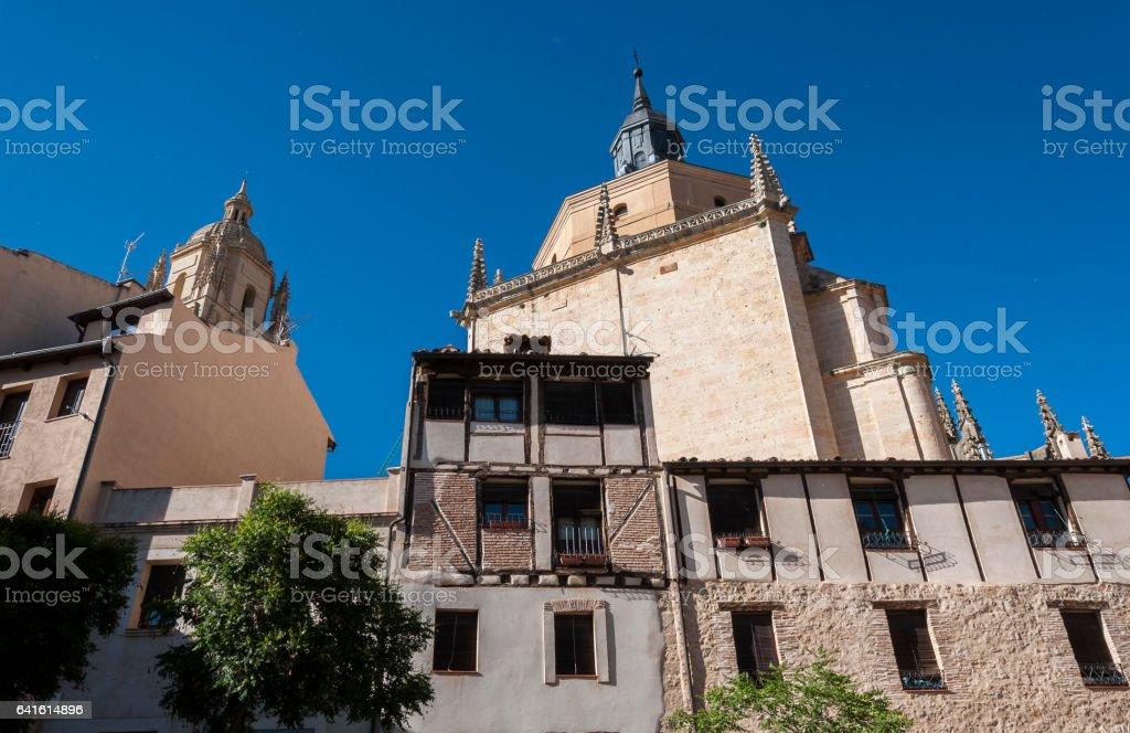 Views of Segovia, Spain stock photo