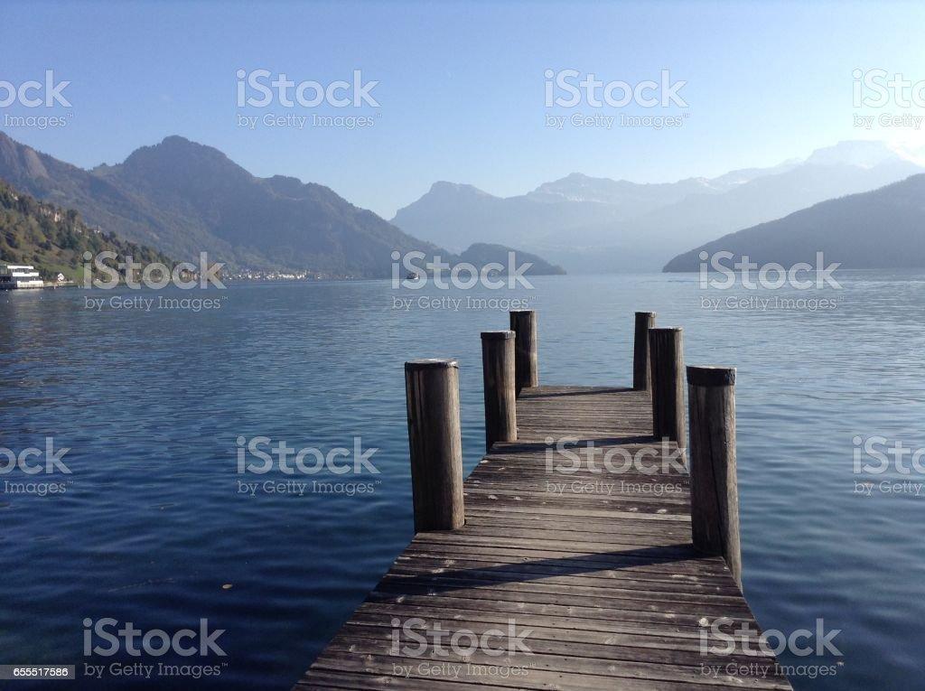 Views of Switzerland stock photo