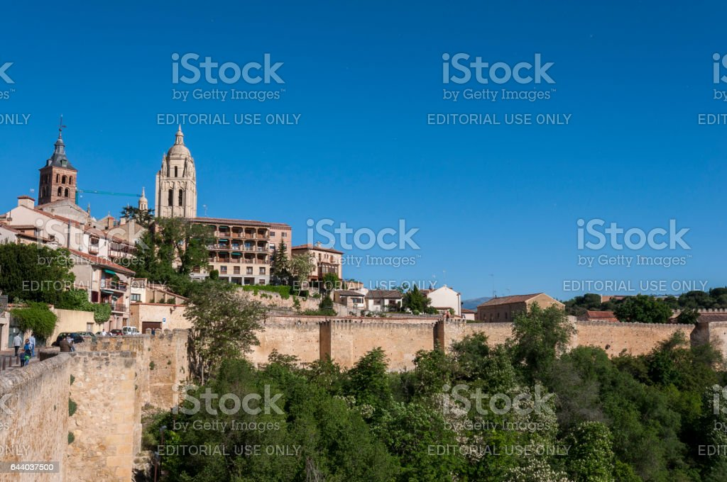 Views of the city of Segovia stock photo
