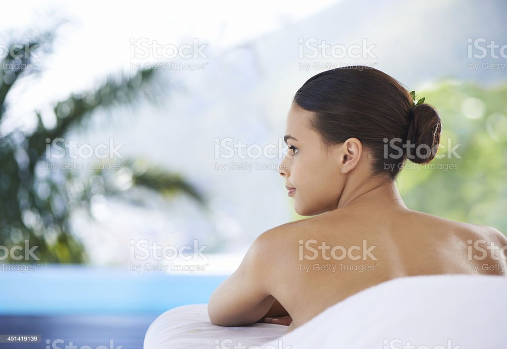 Views to help you take your mind off...everything! stock photo