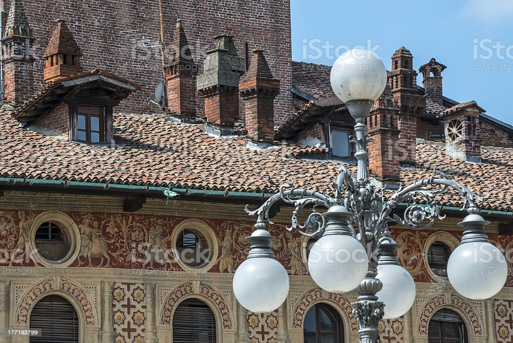 Vigevano: Piazza Ducale royalty-free stock photo