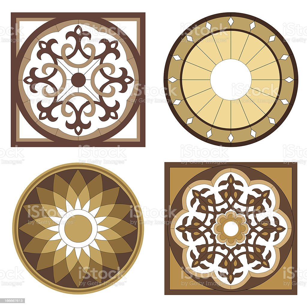 Vignettes mosaic royalty-free stock photo