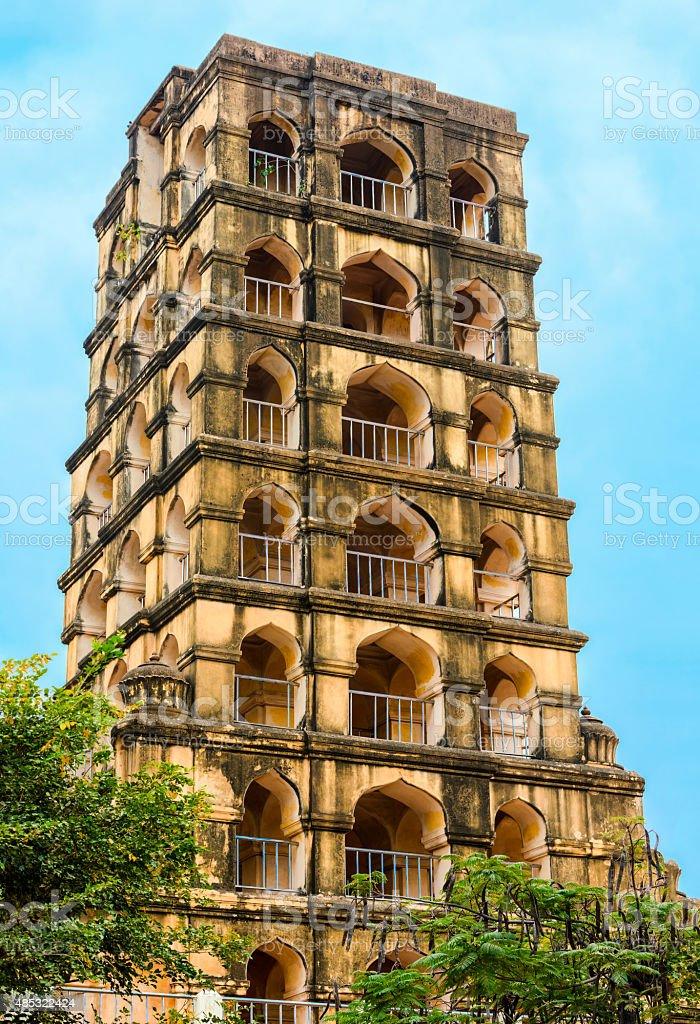 Vijaynagara Fort of Tanjore prominent historical monument stock photo