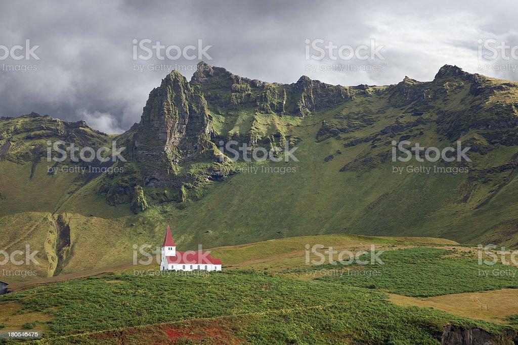 Vik, Iceland. royalty-free stock photo