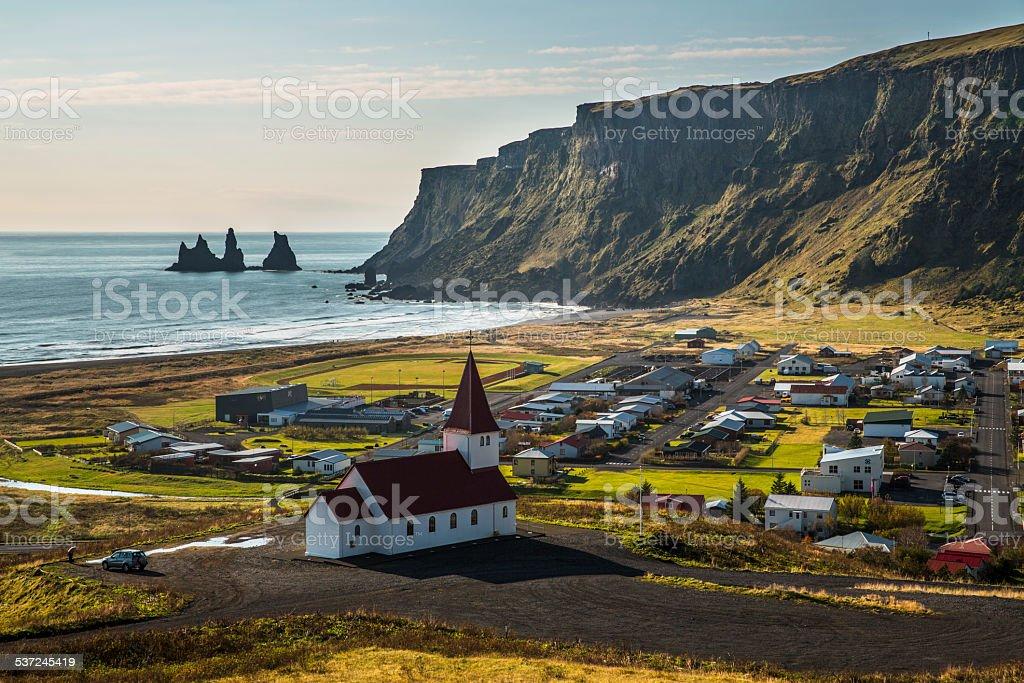 Vik , Iceland stock photo