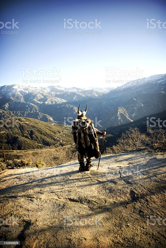 Viking early morning stock photo