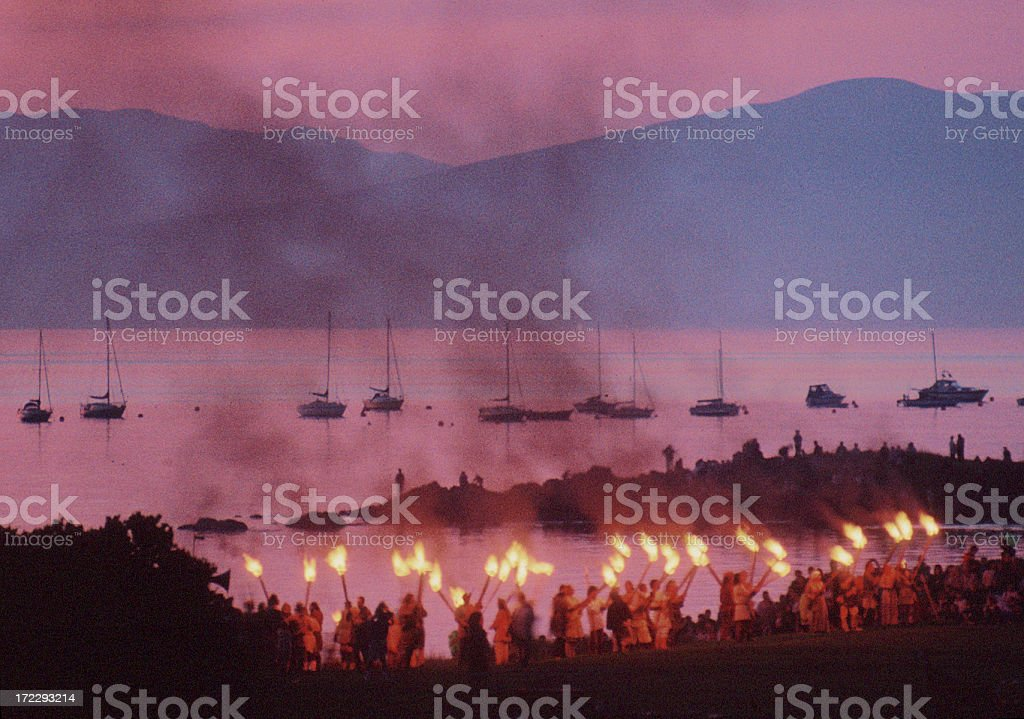 Viking Festival royalty-free stock photo