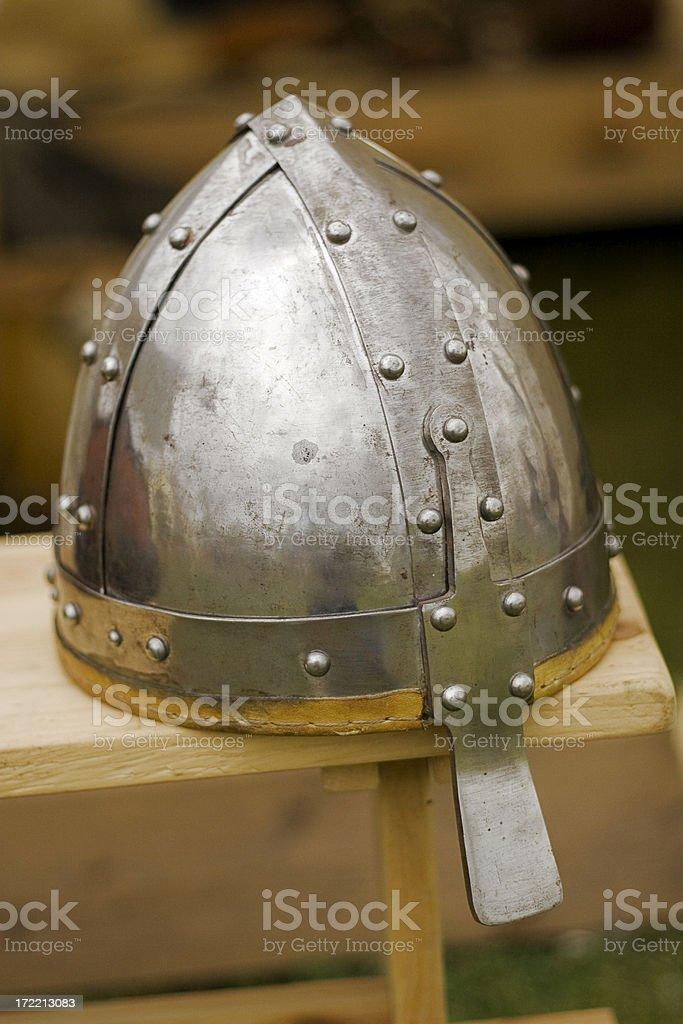 Viking helmet. royalty-free stock photo