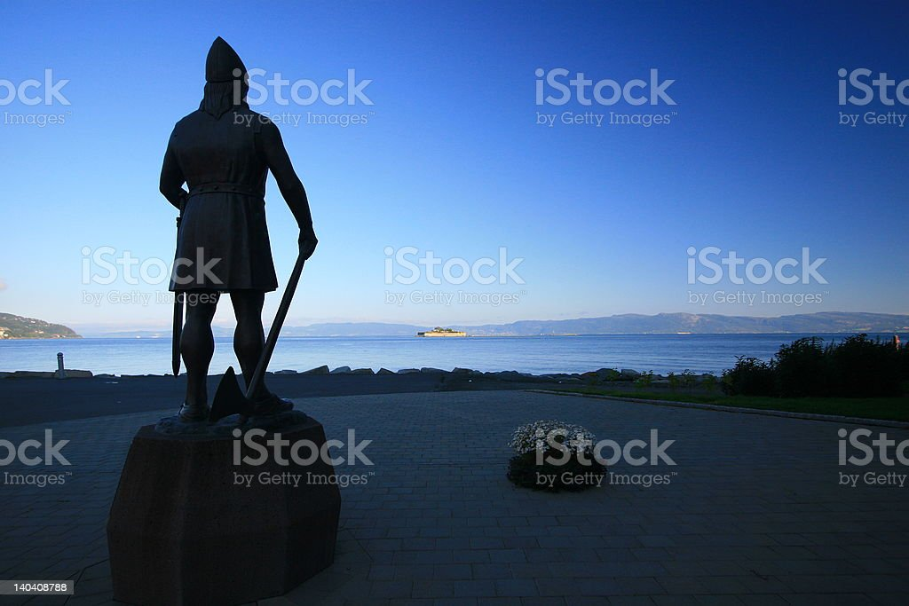 Viking Honor III royalty-free stock photo