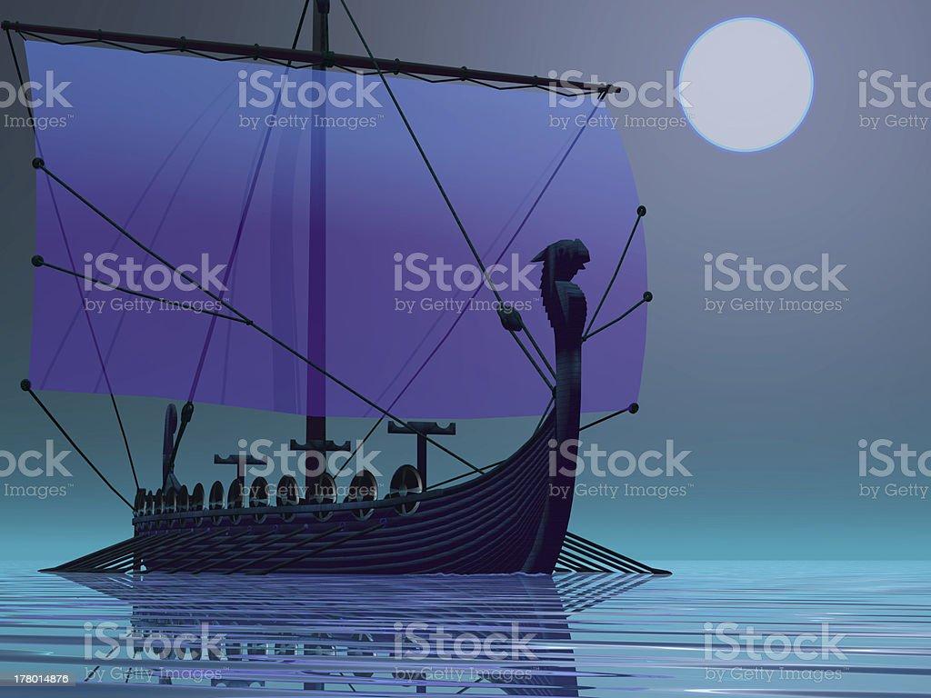 Viking Journey stock photo