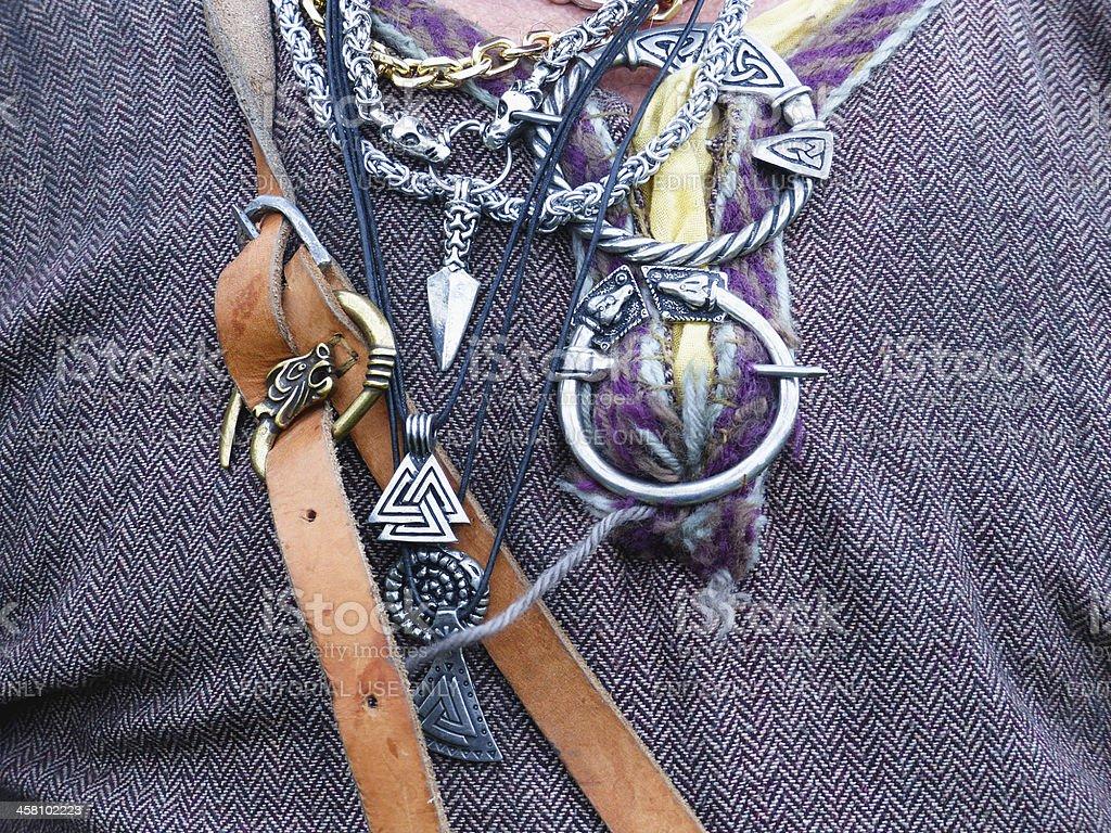 Viking metal stock photo