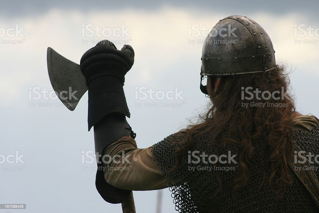 viking stock photo