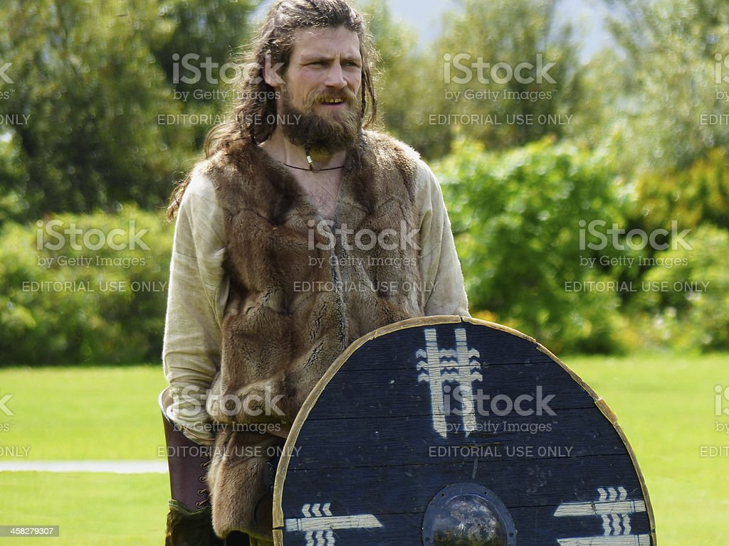 Viking royalty-free stock photo