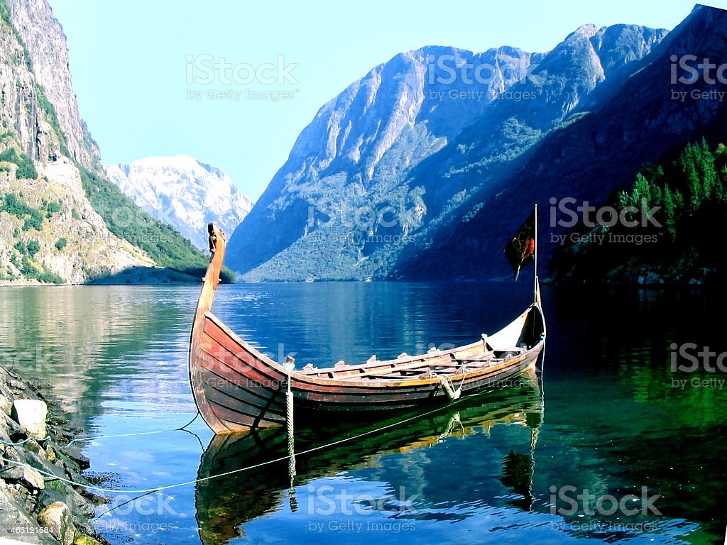 vikingo stock photo