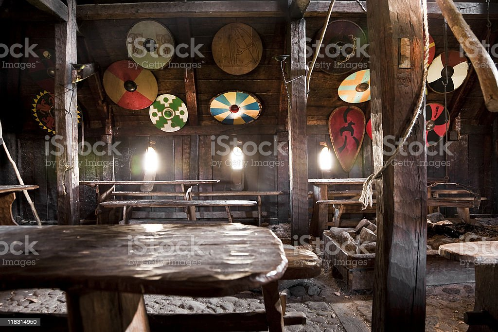 Viking Room royalty-free stock photo