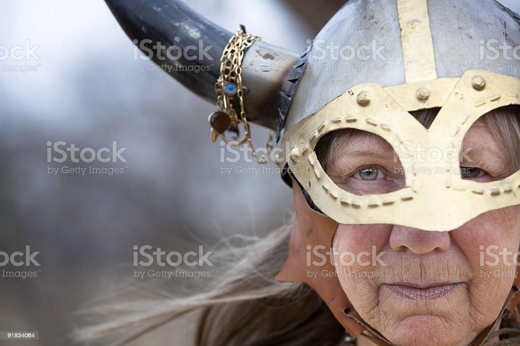 Viking Woman royalty-free stock photo