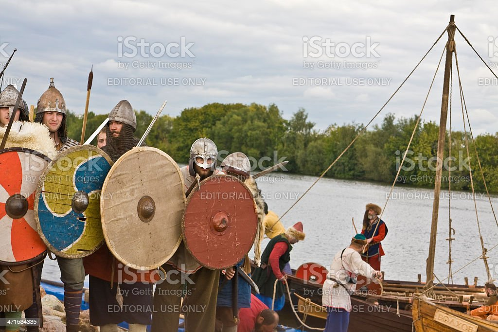 Vikings, historical festival royalty-free stock photo