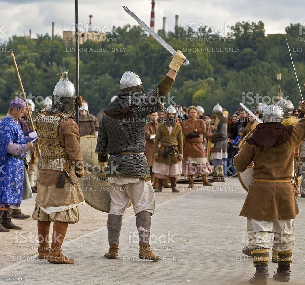 Vikings, historical vestival royalty-free stock photo