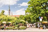 Viktualienmarkt in Munich
